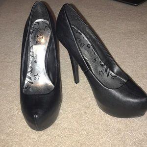 NWOT never worn outside heels